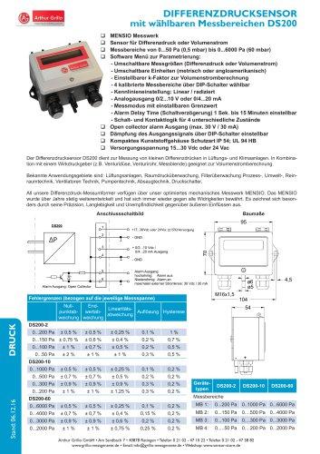 Datenblatt DS200