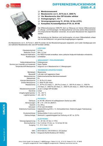 Datenblatt DS85PE