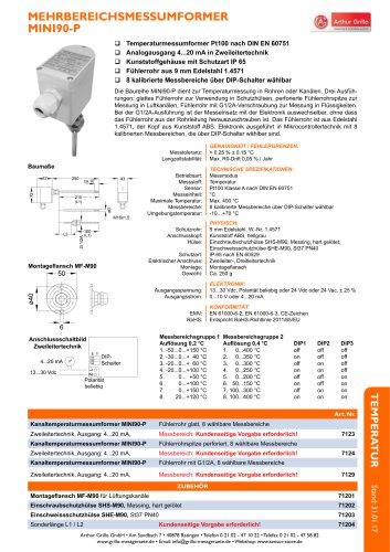 Datenblatt MINI90P