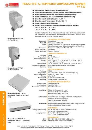 Datenblatt PFT22