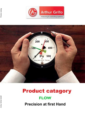 product category - flow
