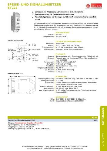 Speise und Signalumsetzer ST225