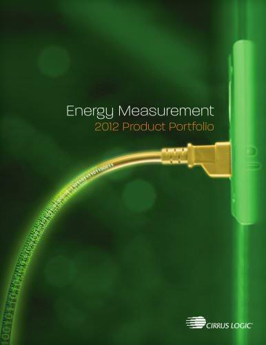 Energy Measurement Brochure