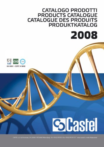 Products Catalogue 2008