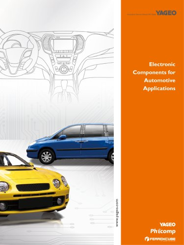 Electronic Components for Automotive Applications