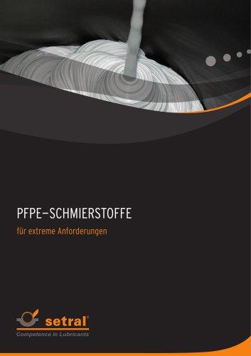 PFPE-Schmierstoffe
