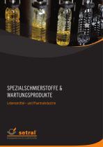 Spezialschmierstoffe für die Lebensmittelindustrie