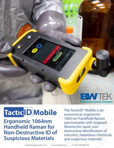 TacticID Mobile Handheld Raman