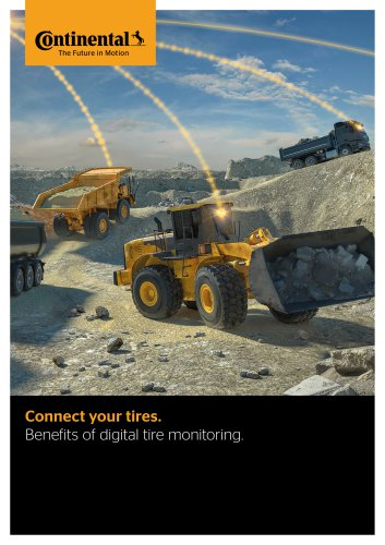 Benefits of digital tire monitoring.