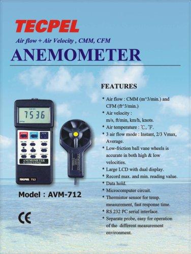 Anemometer ( AVM712)