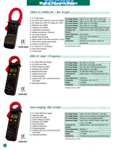 Digital Clamp Meter Multimeter