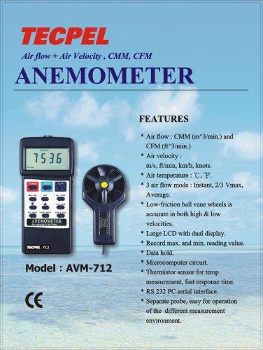 Tecpel Anemometer