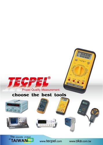 TECPEL Measuring Meters