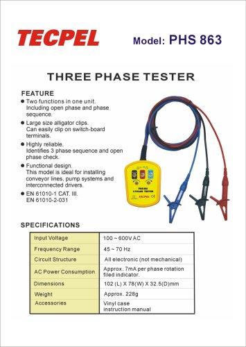 Three Phase Tester