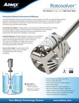 Rotosolver® High Shear In-Tank Mixer