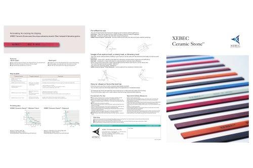 XEBEC Ceramic Stone™ (Meister Finish, Heat-Resistant, Diamond, Soft, Pencil)