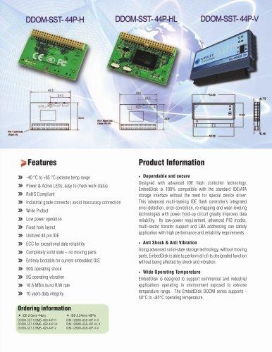 EmbedDisk Module IDE/ATA Series