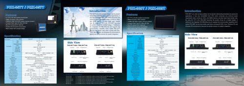 PMX-089T Panel PC
