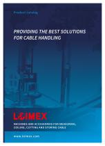PROVIDING THE BEST SOLUTIONS FOR CABLE HANDLING