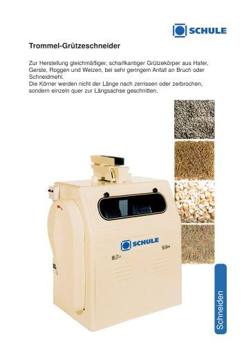 Grobzerkleinerungsmaschinen: Trommel-Grützeschneider