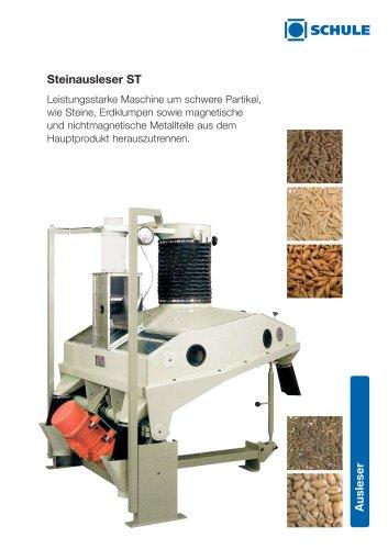 Reinigungsmaschinen - Steinausleser ST