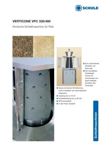VERTICONE Konische Schleifmaschine für Reis