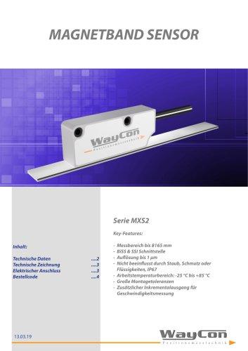 Digitale Magnetband Sensoren MXS2