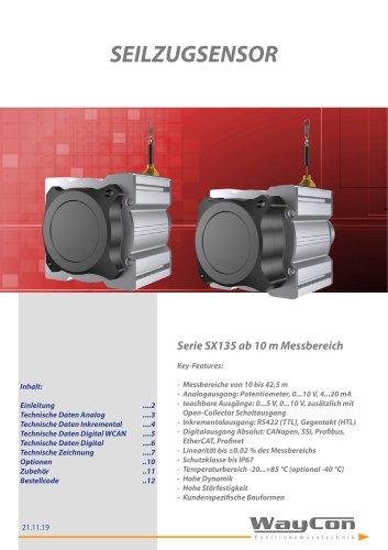 Langwegsensoren SX135 bis 42 m