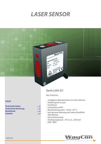 Lasersensor LAH-G1