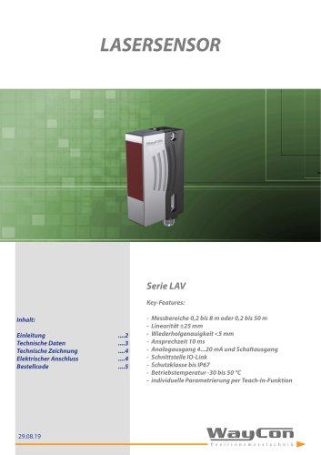 Lasersensor LAV