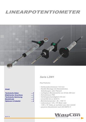 Linearpotentiometer LZW1