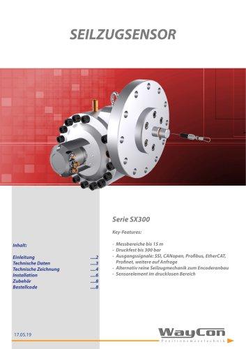 Seilzugsensor SX300