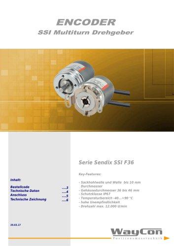 SSI Absolut Encoder F36