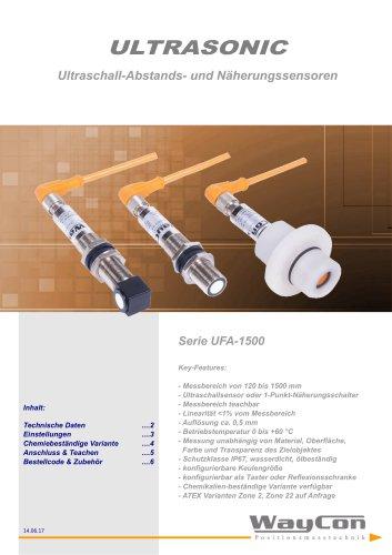 Ultraschallsensor UFA-1500