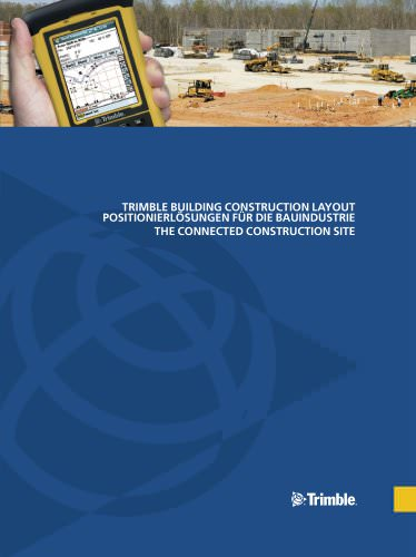 Construction Positioning Solutions Brochure - German