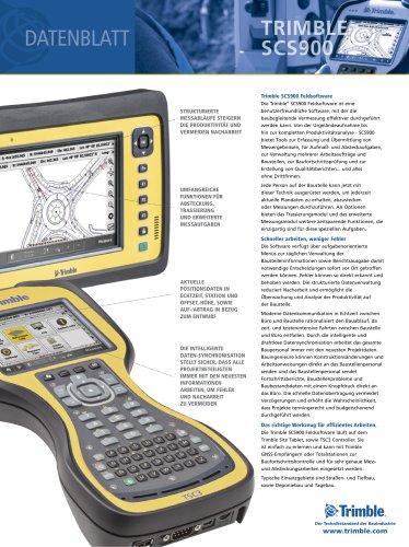 Dataenblatt Trimble SCS900