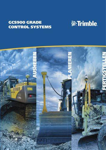 GCS900 GRADE CONTROL Systems