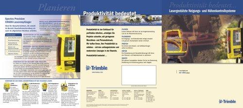 Laser-based Display Systems brochure - German