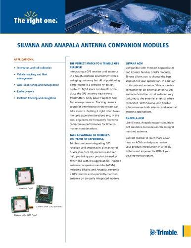 SILVANA AND ANAPALA ANTENNA COMPANION MODULES