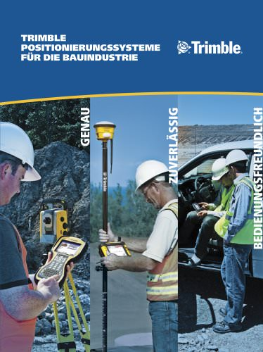 Site Positioning Systems Brochure - German