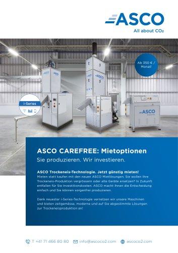 ASCO Carefree Miet Optionen
