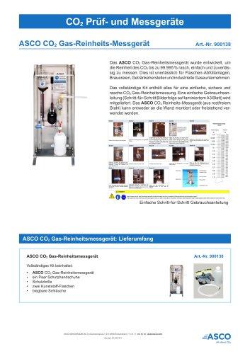 CO2 Gas Reinheitsmessgerät