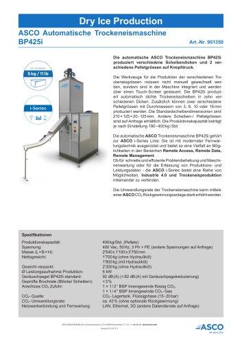 Trockeneis Maschine BP425i