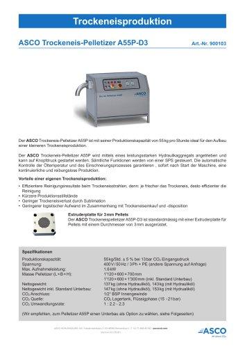 Trockeneis-Pelletizer A55P