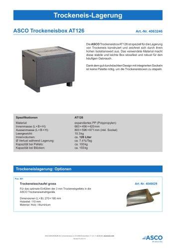Trockeneisbox AT126
