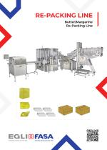 RPL - BUTTER/MARGARINE RE-PACKING LINE