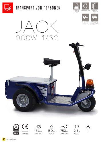 JACK Elektroplattformwagen mit 3 Rädern