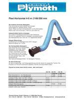 Flexi Horizontal 4?5 m D160/200 mm - 1