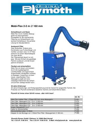 Mobi-Flex 2?3 m D 160 mm