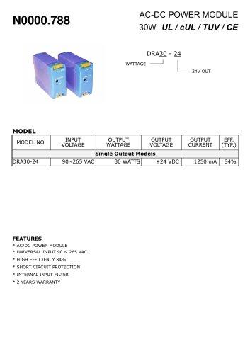 AC-DC power pack